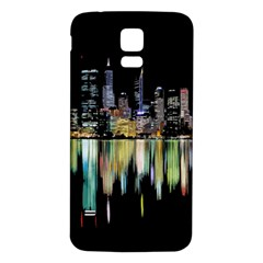 City Panorama Samsung Galaxy S5 Back Case (white)