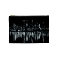 City Panorama Cosmetic Bag (medium)  by Valentinaart