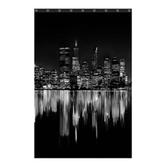 City Panorama Shower Curtain 48  X 72  (small)  by Valentinaart