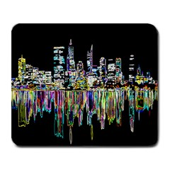 City Panorama Large Mousepads by Valentinaart