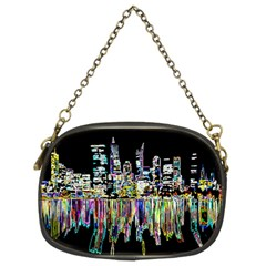 City Panorama Chain Purses (two Sides)