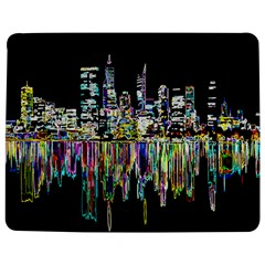 City Panorama Jigsaw Puzzle Photo Stand (rectangular) by Valentinaart