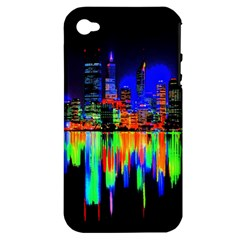 City Panorama Apple Iphone 4/4s Hardshell Case (pc+silicone)