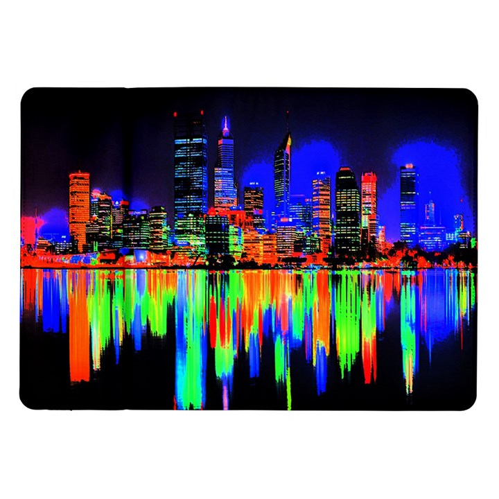 City panorama Samsung Galaxy Tab 10.1  P7500 Flip Case