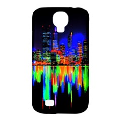 City Panorama Samsung Galaxy S4 Classic Hardshell Case (pc+silicone) by Valentinaart