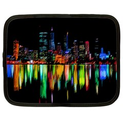 City Panorama Netbook Case (xxl)  by Valentinaart