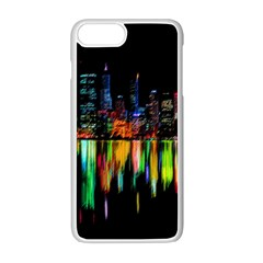 City Panorama Apple Iphone 7 Plus White Seamless Case