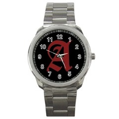 The Scarlet Letter Sport Metal Watch by Valentinaart
