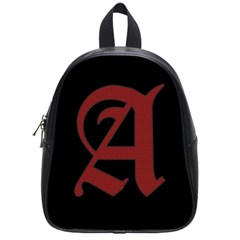 The Scarlet Letter School Bags (small)  by Valentinaart