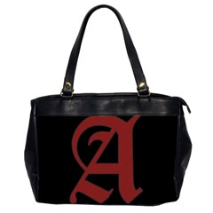 The Scarlet Letter Office Handbags (2 Sides)  by Valentinaart