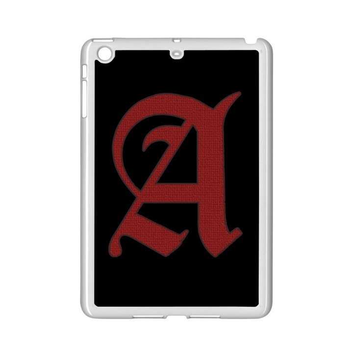 The Scarlet Letter iPad Mini 2 Enamel Coated Cases