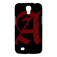 The Scarlet Letter Samsung Galaxy Mega 6 3  I9200 Hardshell Case by Valentinaart