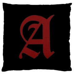 The Scarlet Letter Standard Flano Cushion Case (one Side)