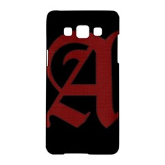 The Scarlet Letter Samsung Galaxy A5 Hardshell Case