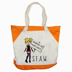 S F A W  Accent Tote Bag by badwolf1988store