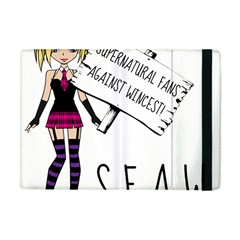 S F A W  Apple Ipad Mini Flip Case by badwolf1988store