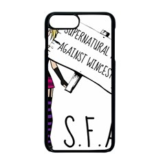 S F A W  Apple Iphone 7 Plus Seamless Case (black) by badwolf1988store
