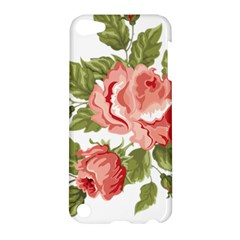 Flower Rose Pink Red Romantic Apple Ipod Touch 5 Hardshell Case by Nexatart