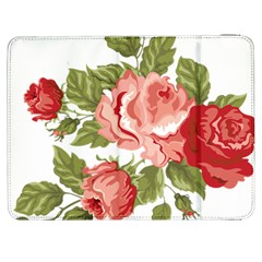 Flower Rose Pink Red Romantic Samsung Galaxy Tab 7  P1000 Flip Case by Nexatart