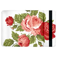 Flower Rose Pink Red Romantic Ipad Air 2 Flip by Nexatart