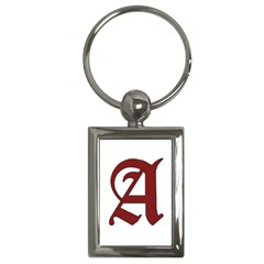 The Scarlet Letter Key Chains (rectangle)