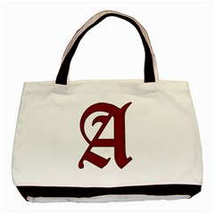 The Scarlet Letter Basic Tote Bag by Valentinaart