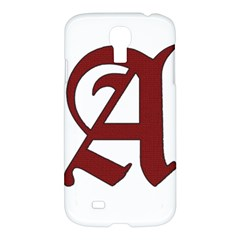 The Scarlet Letter Samsung Galaxy S4 I9500/i9505 Hardshell Case by Valentinaart