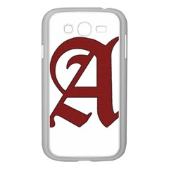 The Scarlet Letter Samsung Galaxy Grand Duos I9082 Case (white) by Valentinaart