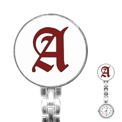 The Scarlet Letter Stainless Steel Nurses Watch by Valentinaart