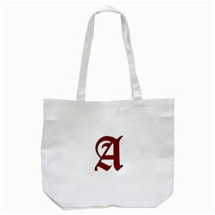 The Scarlet Letter Tote Bag (white) by Valentinaart