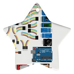 Arduino Arduino Uno Electronic Ornament (star) by Nexatart