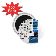 Arduino Arduino Uno Electronic 1 75  Magnets (100 Pack)