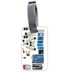 Arduino Arduino Uno Electronic Luggage Tags (one Side)  by Nexatart