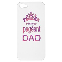 Crazy Pageant Dad Apple Iphone 5 Hardshell Case by Valentinaart