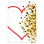 Heart Transparent Background Love Flap Covers (L)  Front