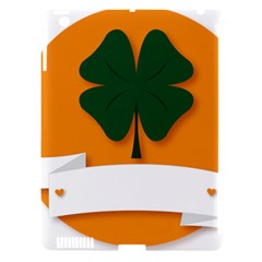 St Patricks Day Ireland Clover Apple Ipad 3/4 Hardshell Case (compatible With Smart Cover) by Nexatart