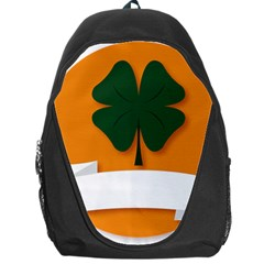 St Patricks Day Ireland Clover Backpack Bag by Nexatart