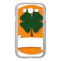 St Patricks Day Ireland Clover Samsung Galaxy Grand Duos I9082 Case (white) by Nexatart