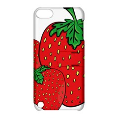 Strawberry Holidays Fragaria Vesca Apple Ipod Touch 5 Hardshell Case With Stand by Nexatart