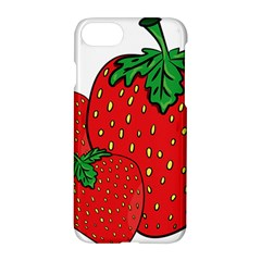 Strawberry Holidays Fragaria Vesca Apple Iphone 7 Hardshell Case by Nexatart