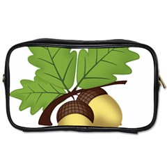 Acorn Hazelnuts Nature Forest Toiletries Bags by Nexatart