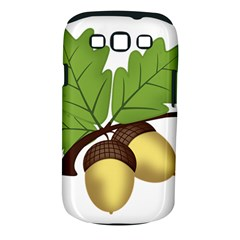 Acorn Hazelnuts Nature Forest Samsung Galaxy S Iii Classic Hardshell Case (pc+silicone) by Nexatart