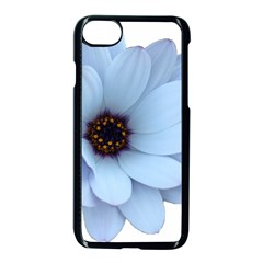 Daisy Flower Floral Plant Summer Apple Iphone 7 Seamless Case (black) by Nexatart