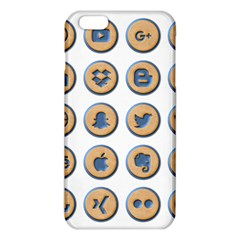 Social Media Icon Icons Social Iphone 6 Plus/6s Plus Tpu Case by Nexatart