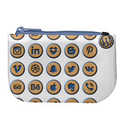 Social Media Icon Icons Social Large Coin Purse