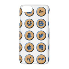 Social Media Icon Icons Social Apple Iphone 7 Hardshell Case by Nexatart