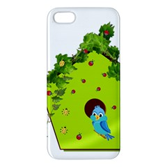 Bluebird Bird Birdhouse Avian Iphone 5s/ Se Premium Hardshell Case by Nexatart