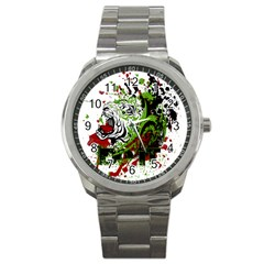 Do It Sport Crossfit Fitness Sport Metal Watch by Nexatart
