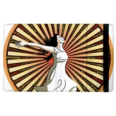 Woman Power Glory Affirmation Apple Ipad 3/4 Flip Case by Nexatart