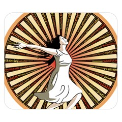 Woman Power Glory Affirmation Double Sided Flano Blanket (small)  by Nexatart